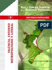 Plan de Esacios Turísticos de la Comunitat Valenciana