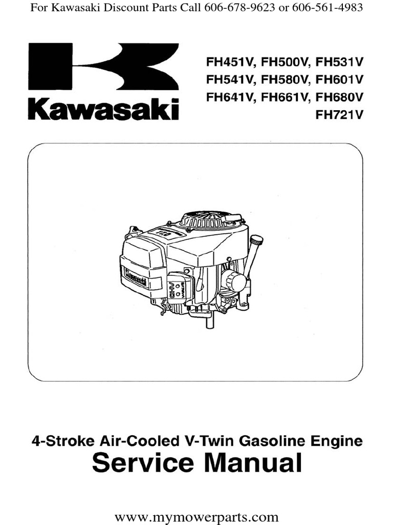 Kawasaki Fh601v Carburetor Adjustment