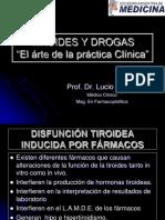 (0)-Tiroides y Drogas