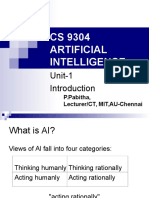 Artificial intelligence s.Russel and P.norvig