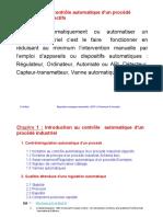 Incitation au contrôle automatique d'un procédé industriel-objectifs