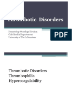 Trombotic Disorder Kbk