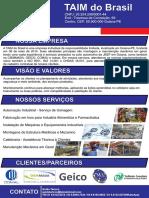 Portfólio - Taim Do Brasil