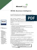 Mcse SQL 2012 Bi