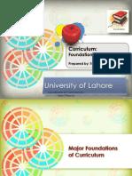 Foundations of Curriculum by Tariq Ghayyur
