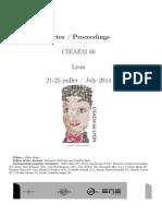 CIEAEM 66 Pproceedings QRDM Issue 24, Suppl.1