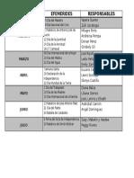 Cronograma de Carteleras 2016-2017
