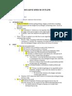 persuasive1 outline
