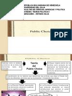 Presentación Public Choice