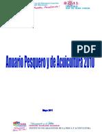 Anuario Pesquero y Acuicola de Nicaragua 2010