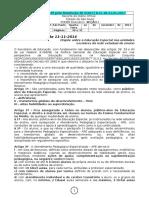 21.01.17 Resolução SE 5-2017 Altera 61-14 Classes de Educação Especial - Procedimentos (1)