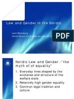 Gender and Law in the Nordics