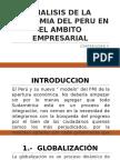 Analisis de La Economia Del Peru en El