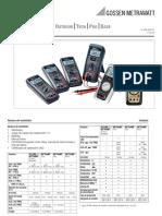 Manual Polimetro Metrahit