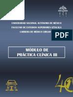m. Practica Clinica III