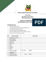 Borang Pendaftaran SRIAS 2017