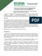 Decomposicao de Acicula de Pinus No Ambiente de Floresta Natural e de Plantio Florestal