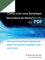 eBook - Como Criar uma Estratégia Vencedora de Marketing de Conteúdo