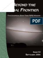 Beyond the Final Frontier, Issue 02