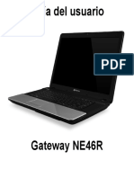 Manual de Usuario Gateway NE46R