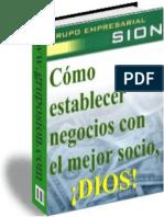 Como Establecer Negocios Con El Mejor Socio DIOS - Grupo Empresarial SION