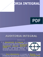 Evolucion de La Auditoria