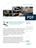 Circuitos de Motores Hidráulicos (Par Constante y Potencia Constante) _ _ OLEO