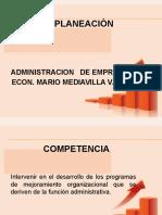 3.2.- Fundamentos de La Planeacion