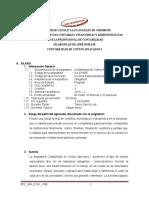 SPA 2016 - 2 Contabilidad de Costos Aplicados I