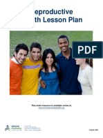 Reproductive Health Lesson Plan