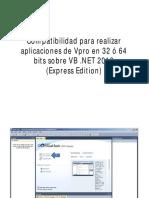 VB Express 2010 Apps Para 32 y 64 Bits