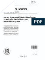 GAO Hiring Freeze Report 137055