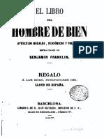 El libro del hombre de Bien - Benjamin Franklin.pdf