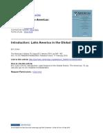Latin American in the Global Sixties