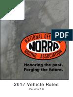 NORRA 2017 Vehicle Rules v3.8