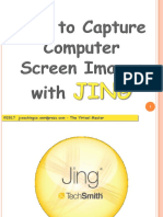 How to Capture Computer Screen Images with JING - Jayvee Cochingco - The Virtual Master