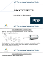 AC Three-phase Induction Motor