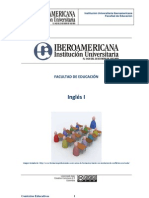 Guía Inglés I