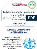 La Medicina Veterinaria y La Salud Pública