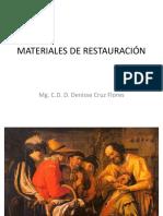Materiales de Restauración