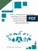Temario_M1T1_Introduccióna las Plantas industriales y su ciclo