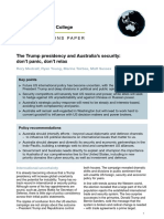 Australian National University's National Security College Policy-options-paper