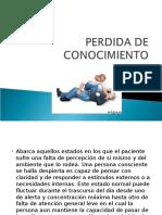 PERDIDA DE CONOCIMIENTO.ppt