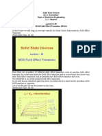 Solid State Devices Lec 38