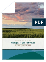 Managing p Soil Tests