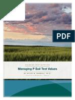 Managing p Soil Tests