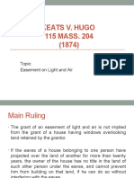 Keats v. Hugo Property