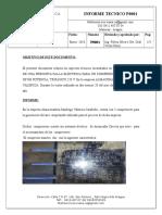 Informe Tecniinforme tecnico