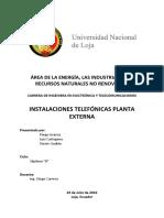 Informe Planta Externa Grupo 4
