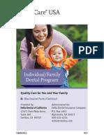 Delta Dental Plan Booklet